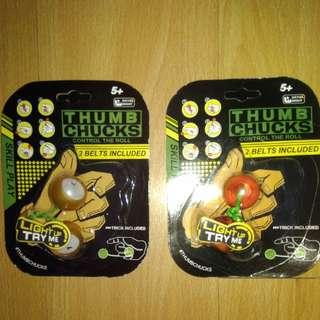 BRANDNEW THUMB CHUCKS ANTI STRESS TOY