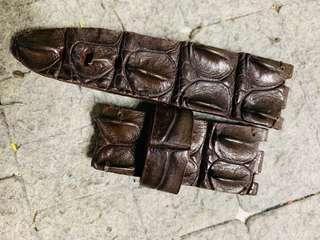🚚 Ap 鱷魚骨頭 錶帶