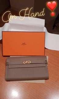 BRAND NEW Hermes Kelly Wallet