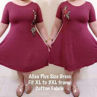 Alisa plus size dress