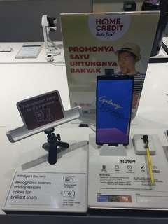 Samsung Note 9 cicilan dgn Home Credit gratis kuota XL 1 th