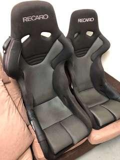 Original Recaro RS-G ASM FIA full bucket seat with side protector