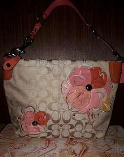 Coach bag pink color Pre-loved