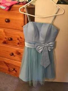 Cute pastel blue dress