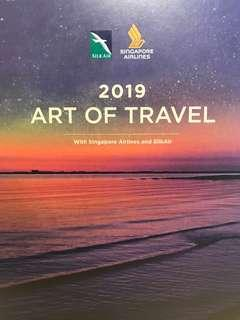 Singapore Airlines 2019 Desk Calendar