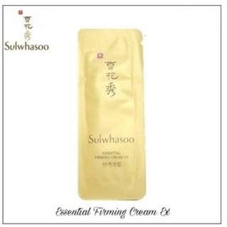 FREE SHIPPING 10PCS SULWHASOO ESSENTIAL FIRMING CREAM EX 1ML