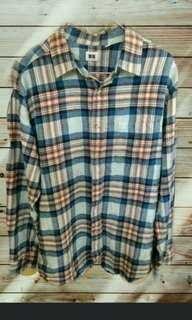 Uniqlo Flannel Original Murah !! (not bomber jacket, topman)