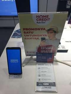 Samsung J6+ cicilan dengan Home Credit promo bunga 0%