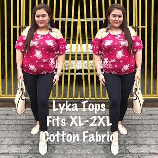 Lyka plus size bakuna top