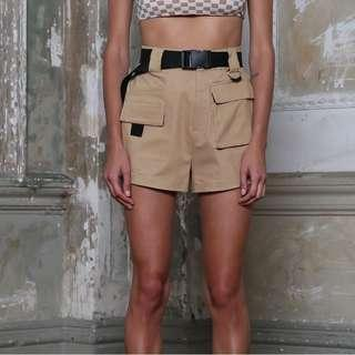 [PO] Cargo Shorts + Belt