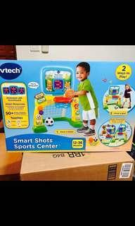 ~Ready Stocked- VTech Smart Shots Sports Center, basketball and soccer - Standard Yellow, Blue, Multicolor, Green