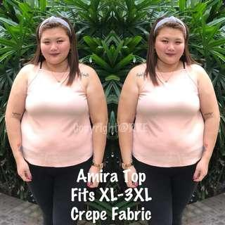 Amira plus size top