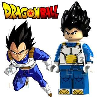 龍珠 比達 人仔 Dragon Ball Vegeta Minifigure