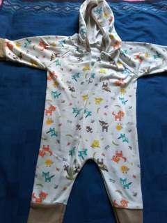 Preloved Baju tidur terusan bayi #momjualan