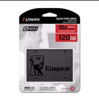 "Kingston A400 2.5"" SATAIII SSD Solid State"