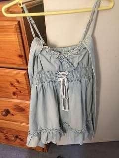 Lolita pastel blue dress
