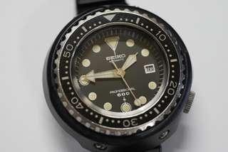 古董 精工 6159 7010 grandpa tuna non m version 1975 吞拿 sbdx011