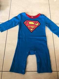 Baju Bayi Superman