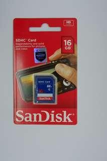 Memori Camera Sandisk 16GB
