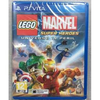 PSV LEGO MARVEL SUPER HEROES UNIVERSE IN PERIL 樂高漫威超級英雄 宇宙危機 全新 行貨 英文版