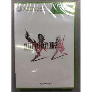 只限郵寄包平郵 XBOX 360 Final Fantasy XIII-2 太空戰士13-2 FF 日文版 全新