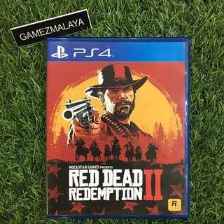 [USED] PS4 RED DEAD REDEMPTION 2 - (GAMEZMALAYA)
