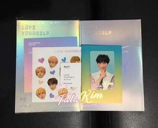 Love Yourself Answer albums (onhand) E or F version