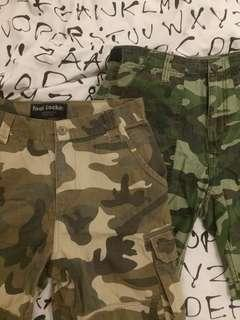 MEN'S SIZE 30 CAMO SHORTS (2FOR30)