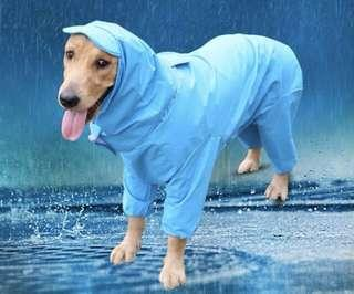 BN Pets Rainy Weather Raincoat with Hood for Retriever Local Large Dog Breeds