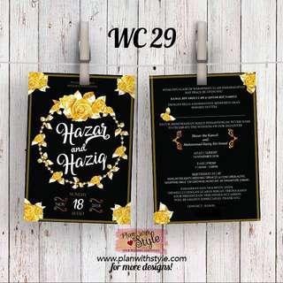 Wedding Card WC29