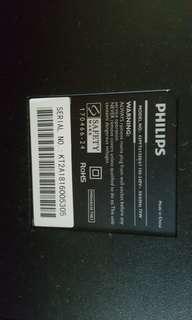 """43"""" Philips tv"""