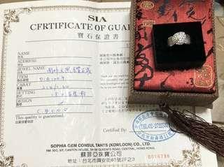 🚚 蘇菲亞鑽石戒指64分