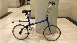 Very Rare Vintage Bernds foldable bicycle