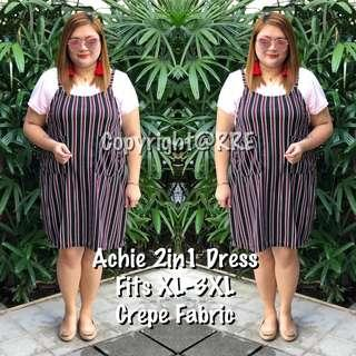 Achie plus size dress
