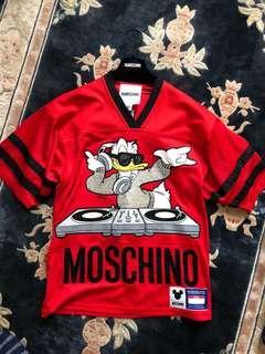 H&Moschino red Disney Jersey #SINGLES1111