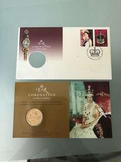 Royal Australia mint- 50th anniversary of queen coronation