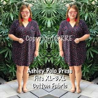 Ashley plus size polo dress