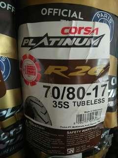 Corsa tayar R26 70/80-17