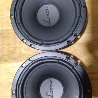 Lanzar VX6C 240W 6.5 two-way component speaker