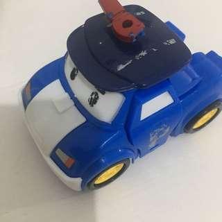 Robopoli robot dan mobil