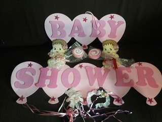 Preloved Baby Shower Banner Design