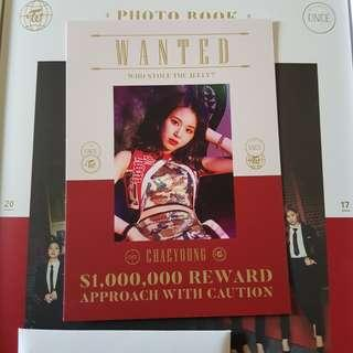 [WTT] Twice Once Begins Chaeyoung Postcard