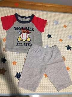 Setelan Bayi Cute and Pie 6-9 month #JualanIbu