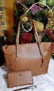 Micheal kors bag & wallet original💯 sale