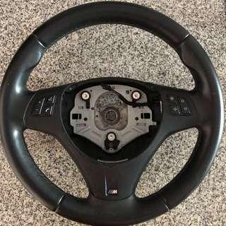 Original E series BMW M3 Steering wheel for sale!