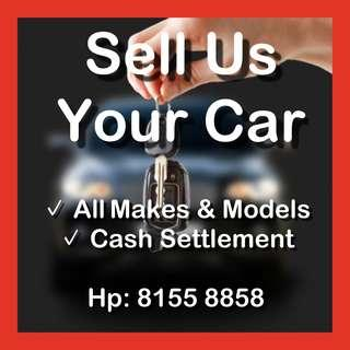 Scrap / Export / Sell Your Car