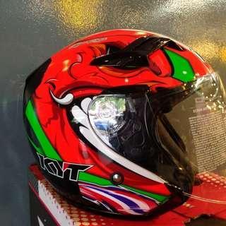 Helmet KYT Venom & Hellcat