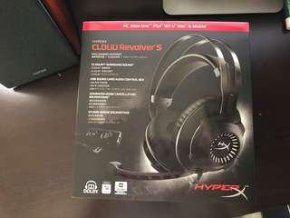 HyperX Revolver S Dolby Atmos 7.1 電競耳機