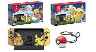 NS Let's Go Pokemon!