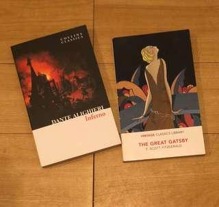 Collins Classics (Inferno & The Great Gatsby)
